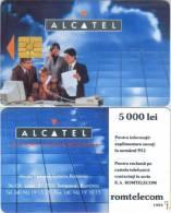 Telefonkarte Rumänien - Werbung - Alcatel - 1993 - Rumänien