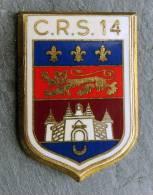 Insigne CRS 14 - Polizei