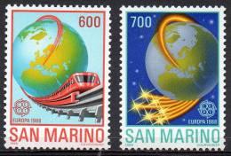 SAN MARINO 1988 Europa: Transport And Communication - San Marino