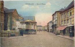 NIVELLES  GRAND PLACE    TRES BELLE EDITION EN COULEUR - KIOSQUE ... - Nivelles