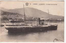 20 - 2A - Ajaccio - Le Départ Du Courrier - Editeur: Tomasi N° 89 - Ajaccio