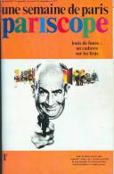 UNE SEMAINE DE PARIS - PARISCOPE (Couverture  Louis De Funès) - N° 177 Du 15 Au 21 Septembre 1971. - Cinema