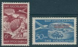 Yugoslavia Republic, Airmail 1951 Mi#666-667, Mint Never Hinged - 1945-1992 Socialistische Federale Republiek Joegoslavië