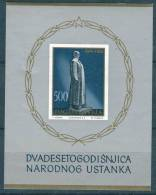 Yugoslavia Republic, President Tito 1961 Mi#Block 6, Mint Never Hinged - 1945-1992 Socialist Federal Republic Of Yugoslavia