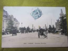 Paris 484 -avenue Nicolas - Fiacres  - Pour Militaire Clerc 114 De Ligne 7 Compagne Caserne Denfert - Taxi & Carrozzelle