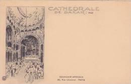Senegal Cathedrale De Dakar Souvenir Africain