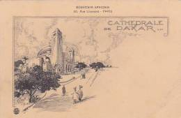 Senegal Cathedrale De Dakar Souvenir Africaine - Senegal