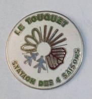 Pin's LE TOUQUET, STATION DES 4 SAISONS - Städte