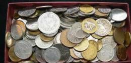 LOTTO 1 KG MONETE FRANCESE, DAGLI ANNI 40 IN POI - Francia