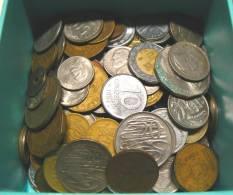 LOTTO 1 KG MONETE DEL MONDO, NO ITALIA, 30% NO EUROPA!! - Monete