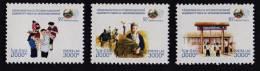 Laos 2005 MNH ** 50^ Year Cooperation Lao - U.N. Scott 1679-1679B - Y&T 1610-1612 - Michel 1983-1985 - Laos