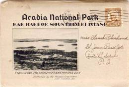 Pochette Dépliant 10 Vues - Acadia National Park - Bar Harbor, Mount Desert Island .. (48273) - Etats-Unis
