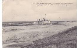 20915 Sables D´Olonne (france) Infernet, Ex-Croiseur Français, 100m Cote à Midi 10.11.1910 -Amiaud-naufrage - Bateaux