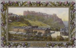 UK - Edinburgh Castle And National Galery - Midlothian/ Edinburgh