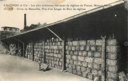 13 MARSEILLE CARENOU ET CIE USINE DE FABRICATION DE REGLISSE HANGAR DE BOIS DE REGLISSE