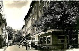 Vernet Les Bains. Rue Des Bains Et L´Hôtel Moderne. - Andere Gemeenten