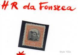 H.R. Da Fonseca, Se 19*, Cote 5 €, - Ongebruikt