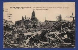 62 NEUVE-CHAPELLE Ruines Après La Défaite Allemande - Sonstige Gemeinden