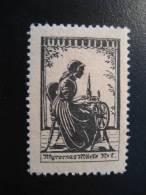 DENMARK Coudre Sew Piqueur Stitcher Fileur Filage Sewing Machine Fashion Mode Moda Poster Stamp Vignette Label - Textile