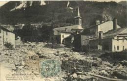 MODANE FOURNEAUX  Catastrophe Du 21 Juillet 1906 Emplacement De La Grande Rue Recto Verso - France