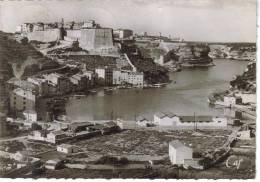 CPSM BONIFACIO (Corse Du Sud) - La Marine Et La Haute Ville - Other Municipalities
