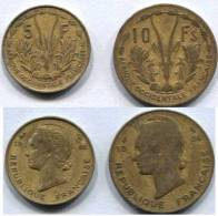 5 Et 10 Francs 1956 Afrique Occidentale Francaise - France