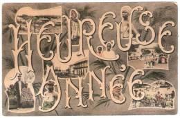 HEUREUSE ANNEE Fantaisie Fortier Dakar Sénégal Afrique - Senegal