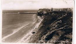 Whitby   The Spa And Sands  West Cliff - Whitby