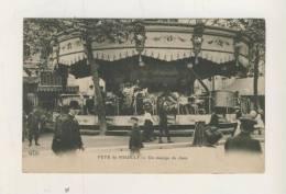 NEUILLY-sur-SEINE :Rare Cliché , Manège De Chats ,Fete De Neuilly En1910, Tbetat - Neuilly Sur Seine