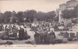 CPA 41 BLOIS ,le Marché Aux Légumes. (animée....) - Blois
