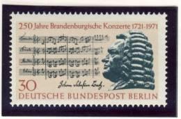 1971 Germany Berlin Complete MNH Brunswick Concerts Set Of 1 Stamp Michel # 392 - [5] Berlin