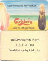 #D07-396 Viltje Carlsberg - Sotto-boccale