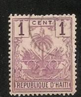 HAITI OBLITERE - Haïti