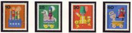 1971 Germany Berlin Complete MNH Wooden Toys Set Of 4 Stamps Michel # 412-415 - [5] Berlin