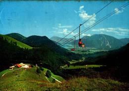 AK Steinbergalm (Ruhpolding), Sessellift, Gel 1964 - Postcards