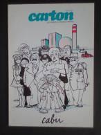 Carton. No4. Cabu - Cabu