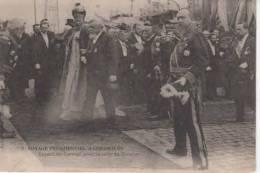 50-  100265 -   CHERBOURG    -     Voyage Presidentiel ,départ Du Cortege - Cherbourg