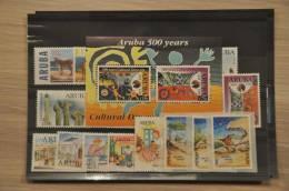 B104 ++ ARUBA 1999 JAARSET YEAR SET NVPH 221-242  POSTFRIS MNH CAT 47,70€ - Postzegels