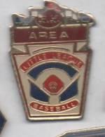 Baseball , Little League , AREA - Honkbal