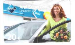 Germany - Allemagne - Aral -  Petrol Station - Carte Cadeau - Carta Regalo - Gift Card - Geschenkkarte - Frankreich