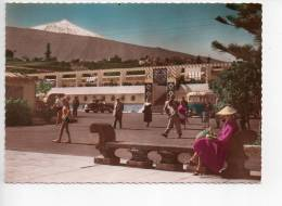 Ref 92 : ESPAGNE ISLA S CANARIAS Puerto De  La Cruz Piscine Et  Teide - Espagne