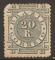 Brésil 1884 - 20r Neuf (MH) - Sc#87 Cote 30$ - Non Classés