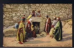 RB 890 - Early Palestine Israel Holyland Postcard - Tomb Of Lazarus Bethany - Palestine
