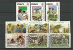ILE De La DOMINIQUE (Caraïbes) Scoutisme &  Année De La Jeunesse . 9 T-p Neufs **. - Scouting