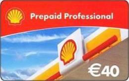 Germany - Allemagne - Shell  -  Petrol Station - Carte Cadeau - Carta Regalo - Gift Card - Geschenkkarte - Frankreich