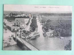 AGDE - L'Hérault Et Le Canal - Agde