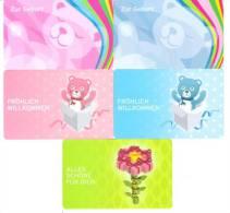 Germany - Allemagne - 5x Ernsting`s Family - Teddy Baer - Carte Cadeau - Carta Regalo - Gift Card - Geschenkkarte - Frankreich