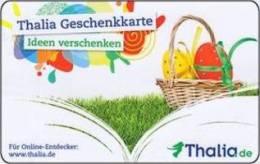 Germany - Allemagne - 2x Diff. Thalia - Easter - Ostern - Tiger- Carte Cadeau - Carta Regalo - Gift Card - Geschenkkarte - Frankreich