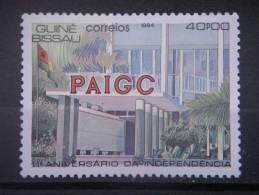 GUINEA-BISSAU, 1984, MNH 40p, Independence, Scott 596 - Guinea-Bissau