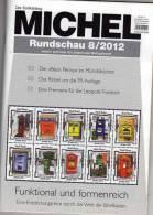 MICHEL Briefmarken Rundschau 8/2012 Neu 5€ New Stamps Of The World Catalogue And Magacine Of Germany - Creative Hobbies